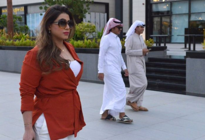 Saudi women can walk on the streets without a burqa